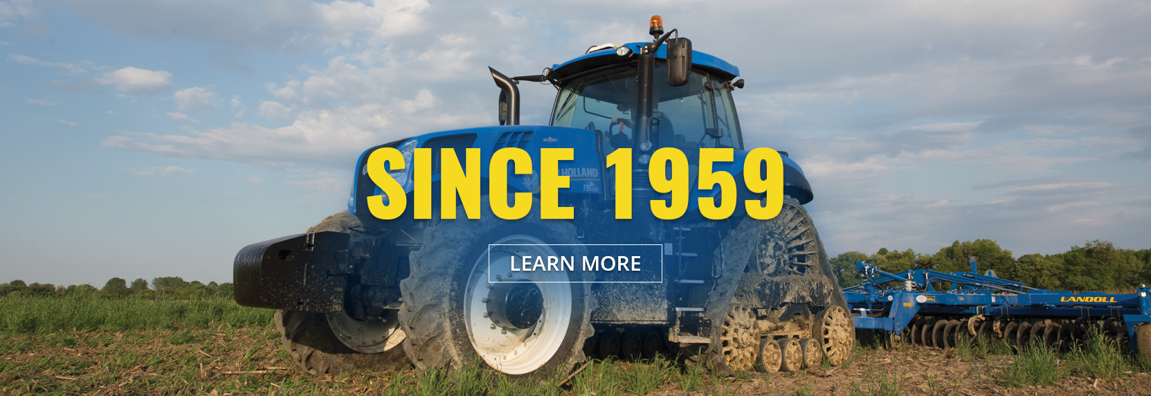 Since 1959 Altman Tractor Company has been dedicated to providing the best service and advice to our customers - Click here to learn more.