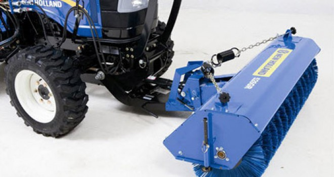 Tractor Rotary Broom For Garden : New holland co prior model altman tractor sc